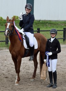 Klubmester dressur pony Rebecca